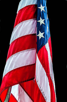 American flag by Xavier Cardell
