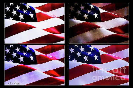 Julian Starks - American Flags Collage