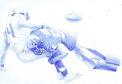 American football by Oleg Kozelskiy
