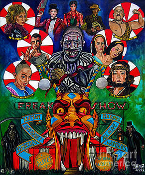 American Horror Story Freak Show by Jose Mendez