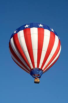 American Hot Air Balloon by Nicolas Raymond