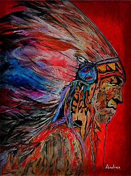 American Indian by Andres Gonzalez