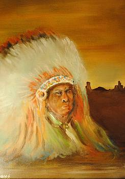 American Indian by James Higgins