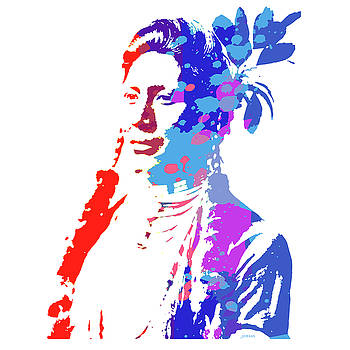 Greg Joens - American Indian Woman