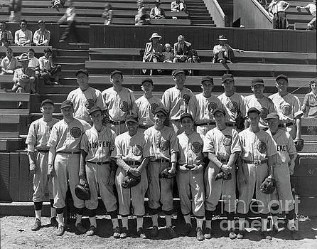 California Views Mr Pat Hathaway Archives - American Legion baseball team at Jacks Park Monterey 1949