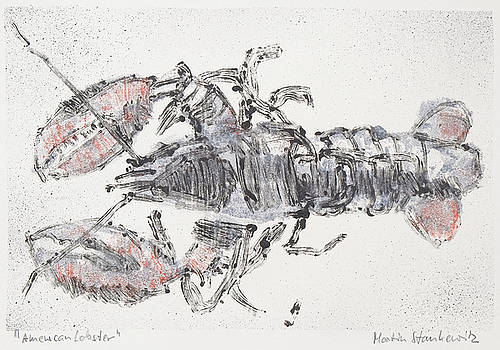 Martin Stankewitz - American lobster, sea food still life