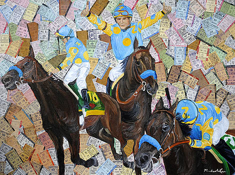 American Pharaoh Triple Crown by Michael Lee
