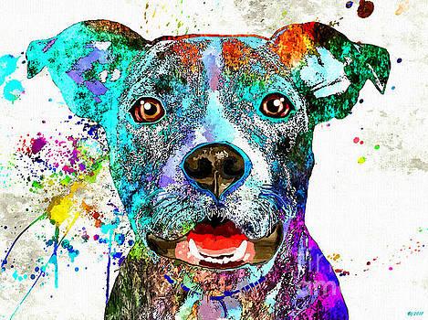 American Pit Bull Terrier by Daniel Janda