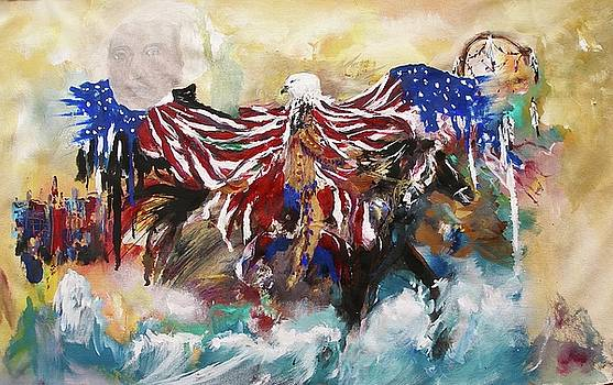 American Pride by Miroslaw  Chelchowski