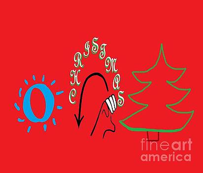 American Sign Language O Christmas Tree by Eloise Schneider
