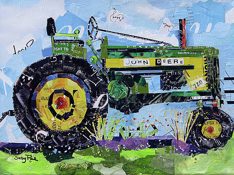 American Tractor by Suzy Pal Powell