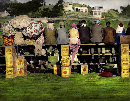 Mike Savad - Americana - People - A well oiled game 1932