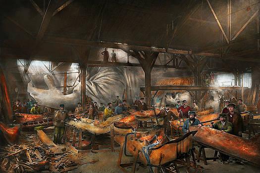Mike Savad - Americana - The creation of Liberty - 1882