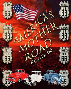 Jack Pumphrey - Americas Mother Road route 66