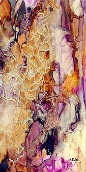 Amethyst and Copper 1 by Susan Kubes