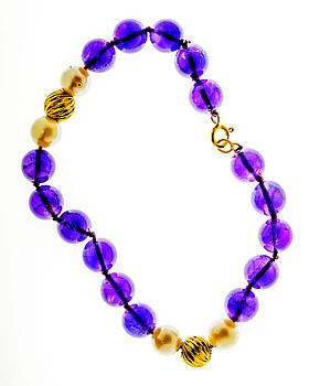 Amethyst Bracelet by Lonnie Paulson