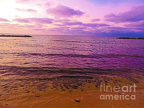 Amethyst Sea by Angela Weis