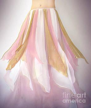 Sofia Metal Queen - Ameynra belly dance fashion - petal skirt 048