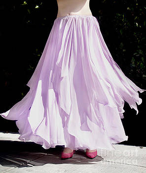 Sofia Metal Queen - Ameynra dance-styled fashion - petal skirt 05