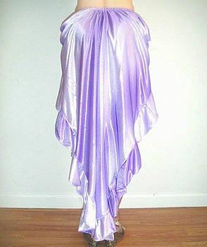 Sofia Metal Queen - Ameynra high-low skirt, rare