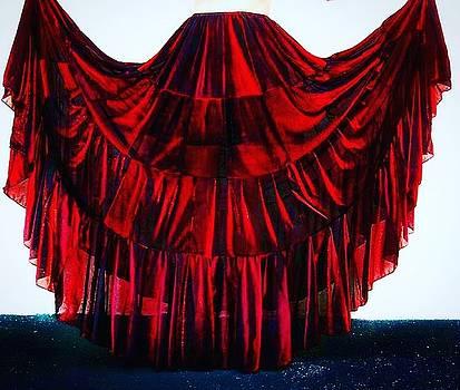 Sofia Metal Queen - Ameynra patchwork fashion maxi skirt 042