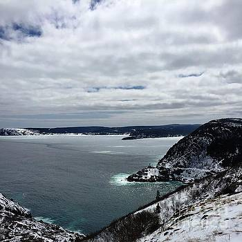Amherst Rock St. John's NL by Barbara Griffin