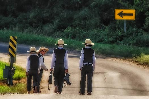 Amish Boys by Dan Traun