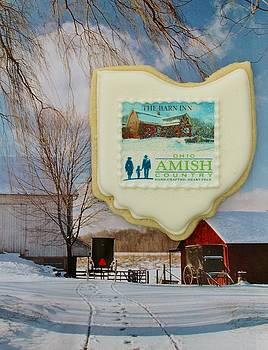 Amish Country Christmas by William Rockwell