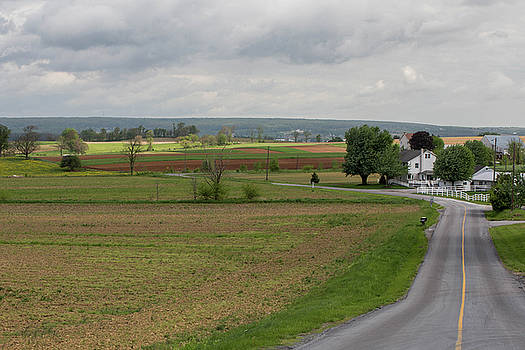 Amish Countryside by Roderick Breem