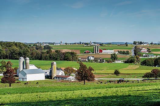 Amish Farm #2 by Gary E Snyder