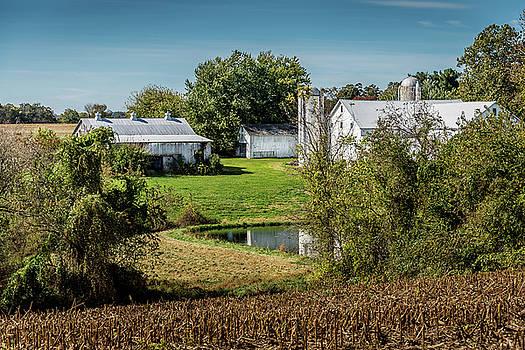 Amish Farm #3 by Gary E Snyder