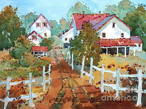 Amish Farm by Joyce Hicks