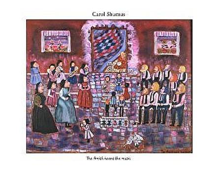 Amish heard the music by Carol Shumas