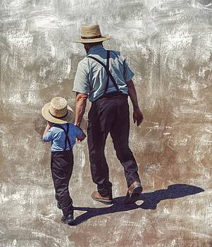 Amish Man and Boy by Stephanie Calhoun