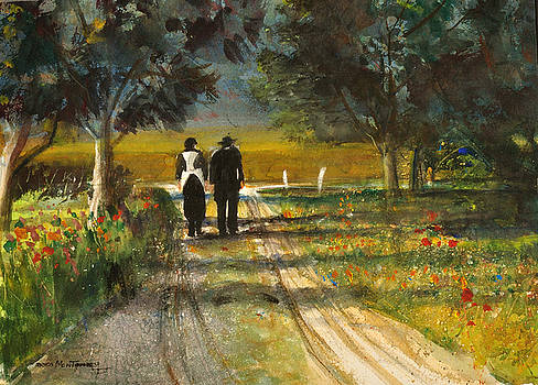 Amish Road by Harmon Montgomery