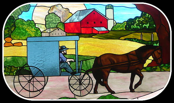 Amish Stained Glass by Barb Montanye Meseroll