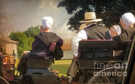 Amish Travelling by Beth Ferris Sale
