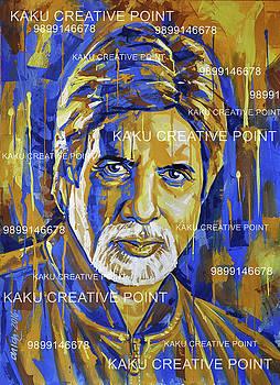 Amitabh Bachchan Poster For Sale by Kamal Kaku