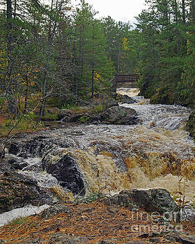 Amnicon Rapids by Robin Clifton