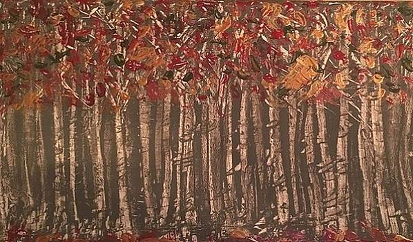 Among the Birches by Heather Burningham