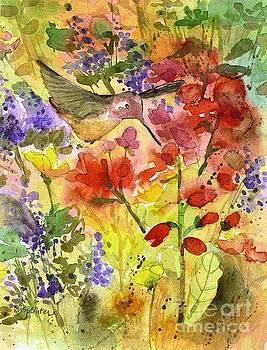 Among the Flowers by Diane Splinter