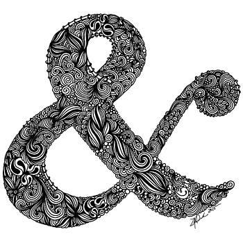 Ampersand by Zee Helmick