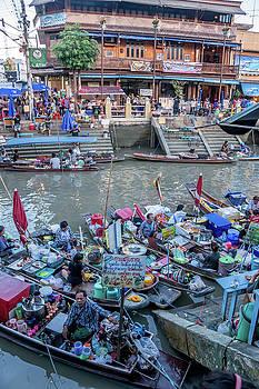 Amphawa Floating Market, Thailand by Randy Straka