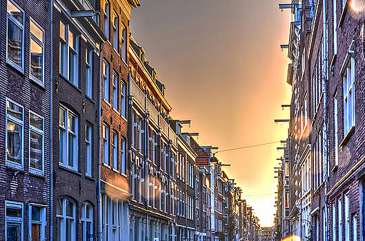 Amsterdam After The Rain by Frans Blok