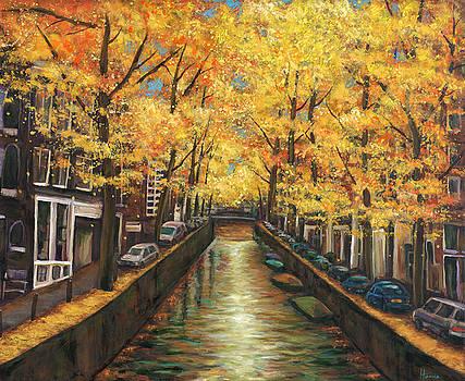 JOHNATHAN HARRIS - Amsterdam Autumn