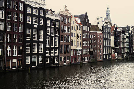 Amsterdam Canal Homes by Kelsey Horne