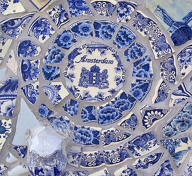 Amsterdam in Blue by April Bielefeldt
