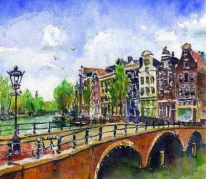Amsterdam Netherlands by John D Benson