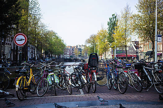 Amsterdam Parking Lot by Digiblocks Photography