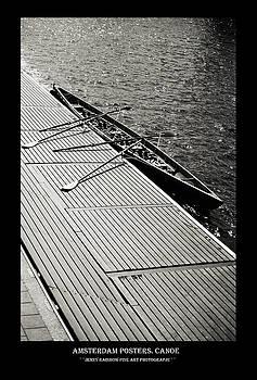 Amsterdam Posters. Canoe by Jenny Rainbow